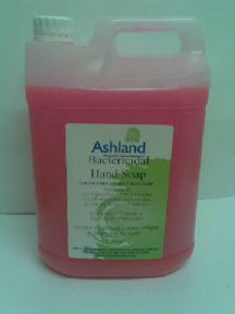 bactericidal unperfumed liquid soap for industrial or home use